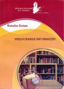 prelucrarea informatiei Natalia Goian