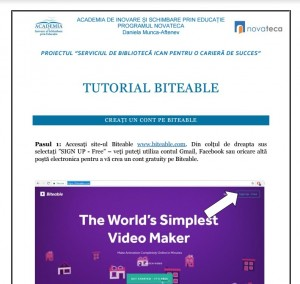 tutorial biteable