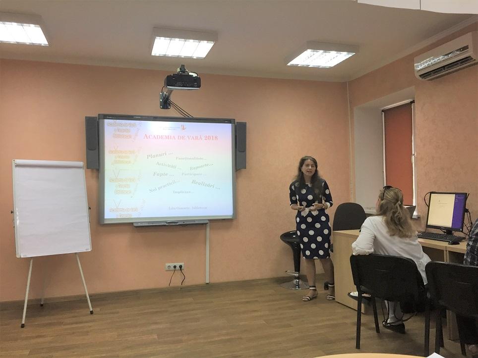 Lilia Gamarta prezentare